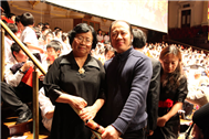 Karl with National Centre For The Performing Arts Chorus Master Lingfen Wu