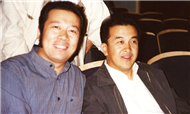 Karl with Chinese Comedy Actor Mr. Hong Huang