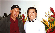Karl with Comedy Actor Mr. Xingyu Wen