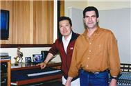 Karl with Australian Well Know Composer Dr Art Phillips