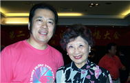 Karl with Fei Ming Yi (Chaiman of Hong Kong Association of Choral Societies)