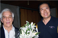 Karl with Vladimir Ashkenazy(Conductor)