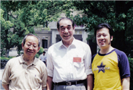 Karl with Chinese well know conductors Yan Liang Kun and Sui Xing Qiao