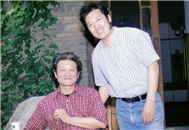 Karl with Yang Hong Nian (Well know Conductor)