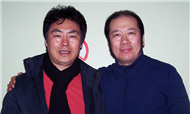 Conductor Karl Yang with Tenor Ding Yi
