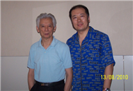 Karl with Composer,Conductor Xiao Bai